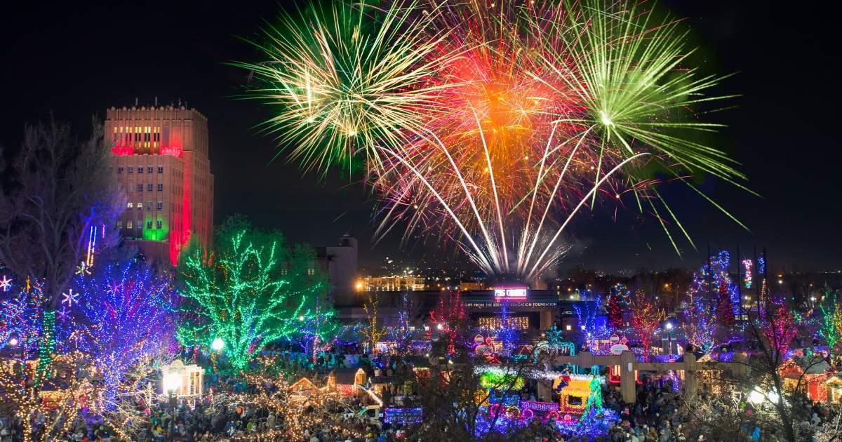 Christmas Village In Downtown Ogden Utah Visit Ogden
